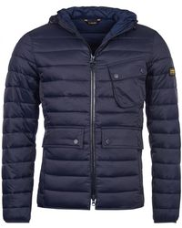 Barbour - Ouston (si) Mens Hooded Quilt - Lyst