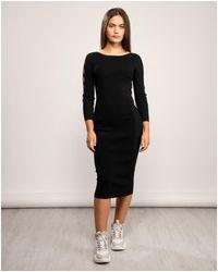 Armani Exchange Vestito Dress - Black
