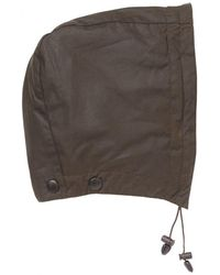 Barbour Classic Sylkoil Hood - Green