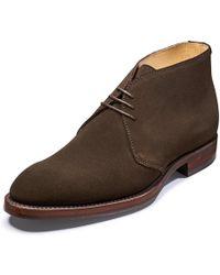 Barker Orkney Mens Chukka Boot - Brown