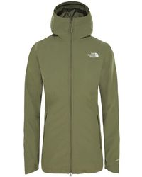 The North Face Hikesteller Parka Womens Shell Jacket - Green