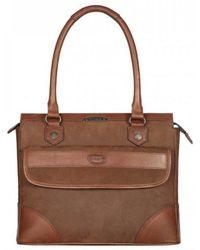 Dubarry Straffan Ladies Shoulder Bag - Brown