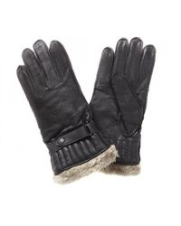 Barbour Leather Utility Glove - Brown