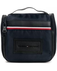 Tommy Hilfiger Modern Nylon Washbag - Blue