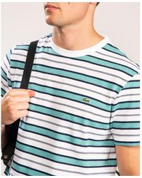 Lacoste Th5141-00 Tee - Blue