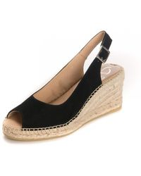 Kanna - Ania Ante Wedged Sandals - Lyst