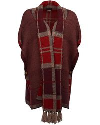 Barbour Dunnit Womens Cape - Red