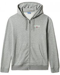 Napapijri B-ice Fzh Zip Sweatshirt - Grey