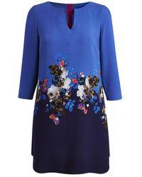 Joules Eva Ladies Dropped Neck Tunic (t) - Blue