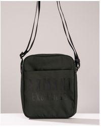 Armani Exchange Small Cross Body Bag - Black