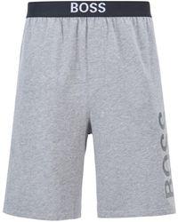 BOSS by HUGO BOSS Identity Pyjama Shorts - Grey
