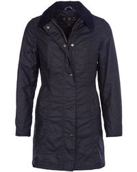 Barbour - Belsay Wax Ladies Jacket - Lyst