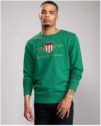 GANT D1. Archive Shield Sweatshirt - Green