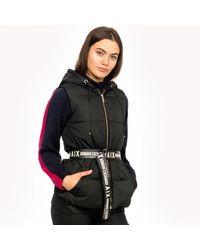Armani Exchange Womens Gilet Piumino - Black