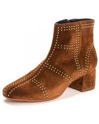 Kanna Carina Baby Silk Boot - Brown