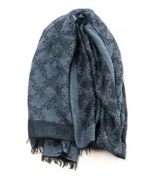 French Connection - Marths Fc Monogram Womens Scarf - Lyst