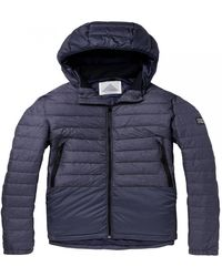 Scotch & Soda Short Quilted Jacket - Blue