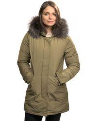 Woolrich - Luxury Arctic Fox Womens Parka - Lyst