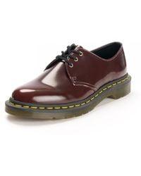 Dr. Martens 1461 Vegan Shoe - Red