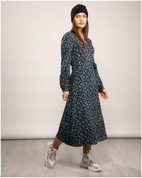 Tommy Hilfiger Raya Wrap Dress - Blue