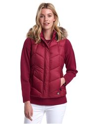 Barbour Downhall Gilet - Pink