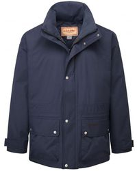 Schoffel Ketton Packable Rain Jacket - Blue