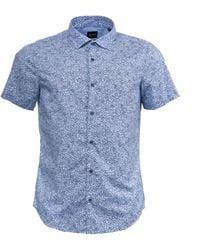 BOSS by Hugo Boss Rash Shirt - Blue