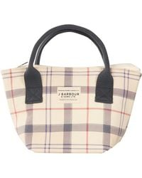 Barbour Leathen Womens Tote - Multicolour