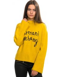 Armani Exchange Pullover - Yellow
