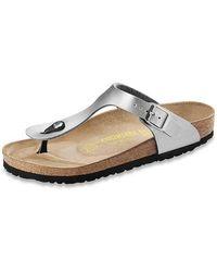 Birkenstock Gizeh Birko-flor® Ladies Flip Flop - Metallic