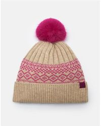 Joules Elsahat Fair Isle Hat (z) - Multicolour