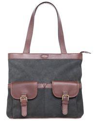 Dubarry Raheen Tote Style Ladies Shoulder Bag - Brown