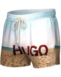 BOSS by HUGO BOSS Beech Swimshort - Blue