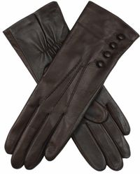 Dents Natalie Touchscreen Technology Ladies Classic Leather Gloves - Black