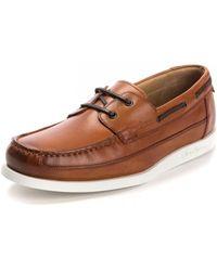 Oliver Sweeney Lufton Dark Tan Shoe - Brown