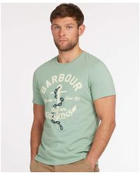 Barbour Amble Tee - Green
