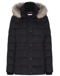 Tommy Hilfiger Essential Monogram Down-filled Jacket - Black