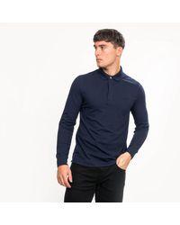 Lacoste Long Sleeve Polo - Blue