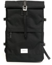 Sandqvist Bernt Roll Top Backpack - Black