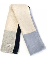 Joules Boucle Scarf A/w - Blue