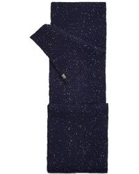 Joules Blyth Knitted Mens Scarf (x) - Blue