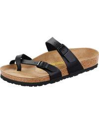 Birkenstock Mayari Birko-flor® Ladies Sandal - Black