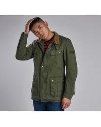Barbour Sum Wash Duke Jacket - Green