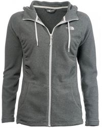 The North Face Tech Mezzaluna Zip Fleece - Black