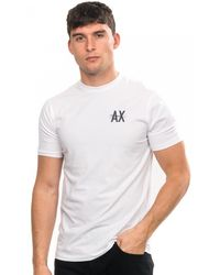 Armani Exchange - T-shirt - Lyst
