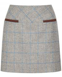 Dubarry - Clover Tweed Mini Skirt - Lyst