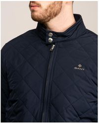 GANT Quilted Windcheater - Blue