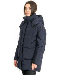 Woolrich Aurora Puffy Womens Coat - Blue