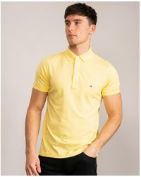 Tommy Hilfiger Tommy Slim Polo - Yellow