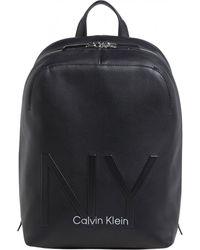 Calvin Klein Ny Womens Backpack - Black